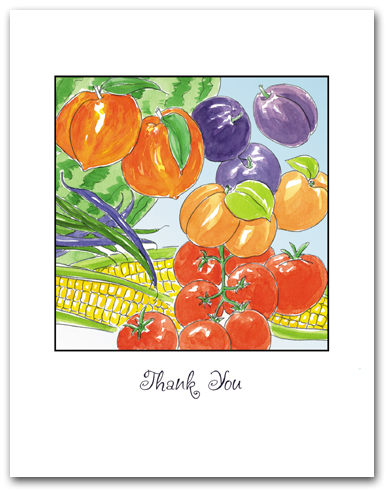 Fruit and Vegetable Assortment Thank You Larger