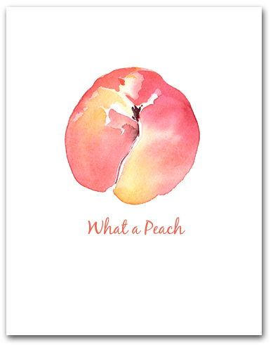Peach Whole What a Peach Larger