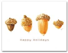 Four Acorns Happy Holidays