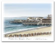 Redondo Beach Pier California Large Horizontal