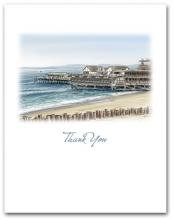 Redondo Beach Pier California Small Thank You Vertical