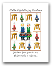 Twelve Days of Christmas Eighth Day