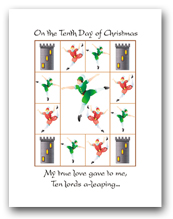 Twelve Days of Christmas Tenth Day
