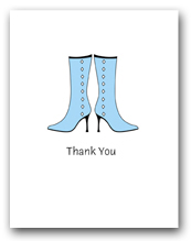 Two Fashion Light Blue Tall Woman�s Boots Thank You